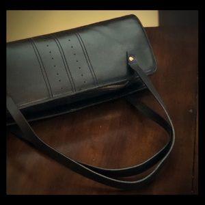 Black Leather Banana Republic Leather Bag